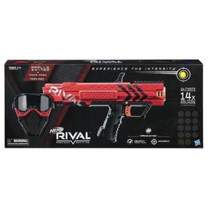 Nerf Rival Mascara Y Apollo Xv 700 Rojo Mas 14 Proyectiles