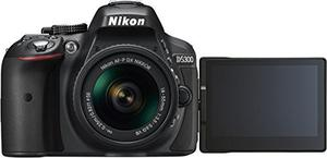 Nikon D Digital Slr Camera - Black (24.2 Mp, Af-p m