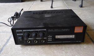 Potente Amplificador Para Casa O Coche J&b Aux 2 Microf