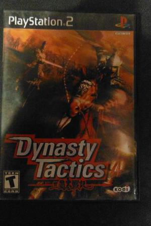 Ps2 Playstation 2 Dynasty Tactics Rpg Videojuego Estrategia