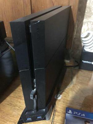 Ps4 500 Gb Con 4 Videojuegos, Control Y Base Enfriadora.