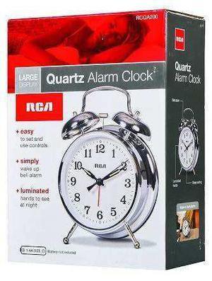 Rca Mod. Rcqa200 Reloj Despertador Vintage Nuevo!
