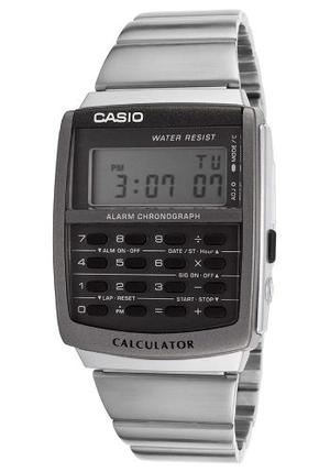 Reloj Casio Ca506 Metal Calculadora 8 Digitos Alarma Crono