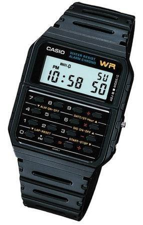 Reloj Casio Ca53 Calculadora 8 Digitos Alarma Cronometro