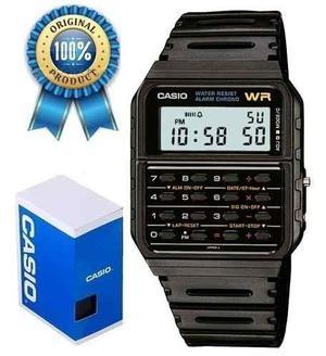 Reloj Casio Ca53 Negro Calculadora Retro Envio Gratis