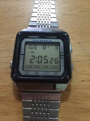 Reloj Casio Tc 500 Tc-500 Calculadora Digital Touch