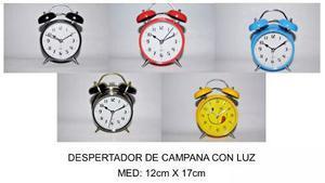 Reloj Despertador Modelo Vintage 12 X 17 Cm