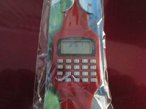 Reloj Retro Con Calculadora Básica Con Envió Y 18 Msi