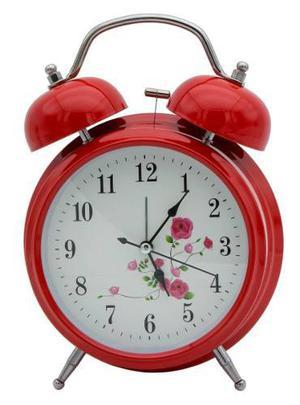 Retro Reloj Despertador Metal Modern 2050 Regalo Hogar Madre