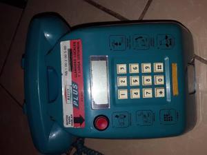 Telefono De Monedas De Coleccion Azul Remate