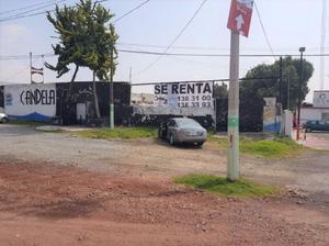 Terreno Comercial en Renta en la Carretera México-