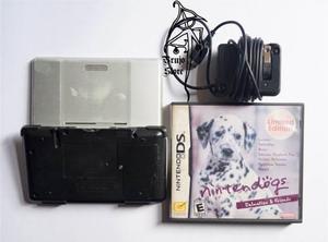 Videojuego Nintendo Ds Plata Con Nintendogs Brujostore