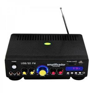 Xa003 Amplificador De Sonido Con Usb Sd Radio Publicidad.!