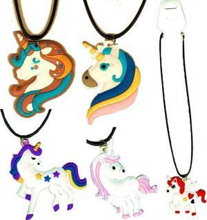 12 Collares De Unicornios A Precio De Mayoreo