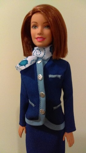 Barbie Sobrecargo Crew Dolls
