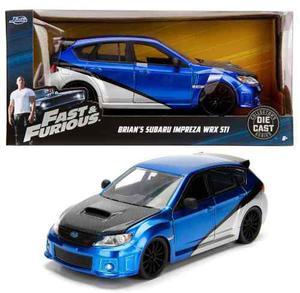Brian Subaru Impreza Wrx Sti Jada Rapido Furioso 1:24 Env