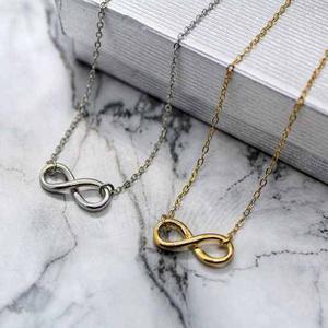 Collar De Infinito Chapa De Oro De 22k + Envió Gratis