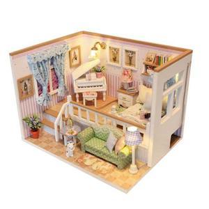 Diy Artesanía En Miniatura Casa De Muñecas De Juguete Conj