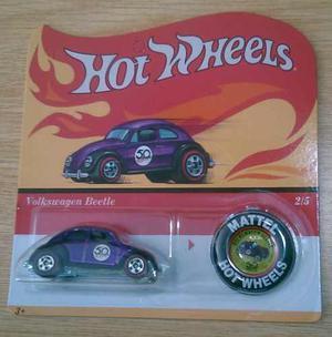 Hot Wheels Volkswagen Beetle Red Line 50 Aniversario Clasico