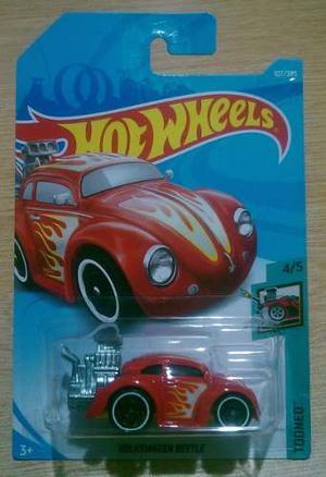 Hot Wheels Volkswagen Beetle  Rojo Vw Tooned