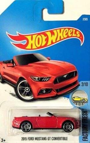 Hotwheels  Ford Mustang Gt Convertible #