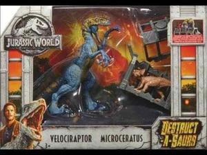 Jurassic World El Reino Caido Destruct Asaurus 3 Modelos C/u