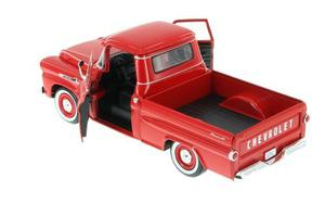 Motor Max  Chevy Apache Fleetside Camioneta Roja
