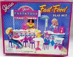 Mueble Para Casa De Muñeca Barbie Snack Envio Incluido
