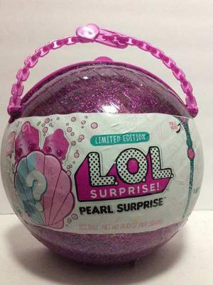 Muñecas Lol Surprise Pearl Grande Edición Nueva