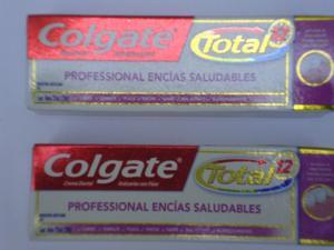 PASTA DENTAL COLGATE 22 ML. 100 PIEZAS $ 4 C/U