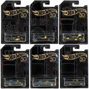 Serie Completa Black & Gold Hot Wheels  Aniversario