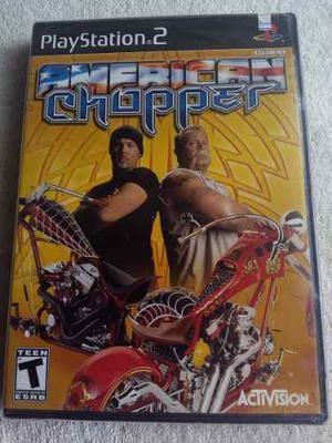 American Chopper Ps2 Playstation Nuevo Y Sellado De Fabrica
