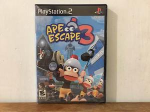 Ape Escape 3 Para Playstation 2 / Ps2 Nuevo