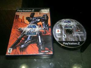 Armored Core 2 Para Play Station 2,excelente Titulo