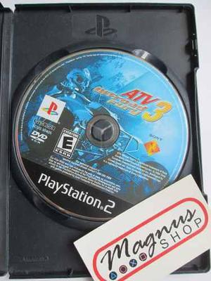 Atv Offroad Fury 3 Para Playstation 2 Ps2 Carreras Cuatris