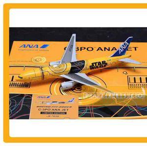 Avion Ana Boeing 777 200er Star Wars C-3po 1:400 Jc Wings