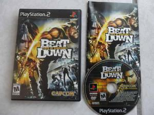 Beat Down Fists Of Vengeance Completo Para Tu Ps2 Capcom