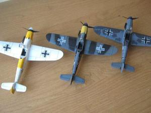 Bf-109 Messerschmitt De La 2da. G. M. De Plastico Esc. 1:48