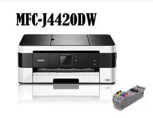 Brother Mfc-j4420dw Sistema Tinta Continua, Imprime Tabloide