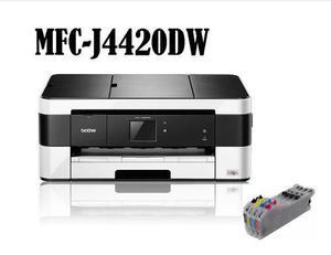 Brother Mfc-j4420dw Sistema Tinta Continua, Imprime Tabloide