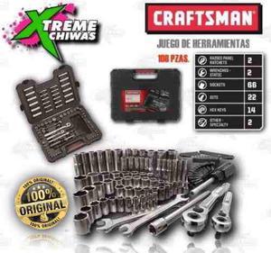 Caja De Herramientas Craftsman Set 108 Piezas Xtreme C