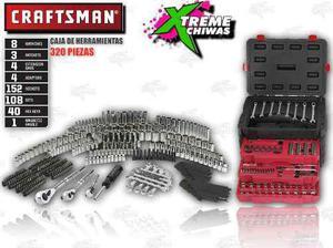 Caja De Herramientas Craftsman Set 320 Piezas Xtreme P