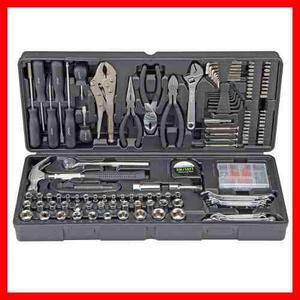 Caja Herramienta Mecanica Y Electrica 130 Piezas Juego Kit