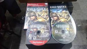 Call Of Duty 3 Special Edition Completo Para Play Station 2