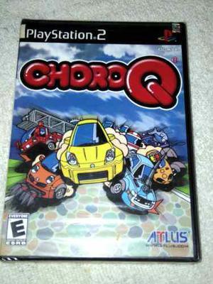 Choro Q Ps2 Playstation 2 Juego Nuevo Y Sellado