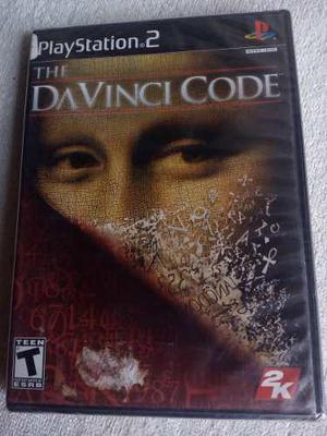 Codigo Davinci Code Ps2 Juego Nuevo Y Sellado De Fabrica
