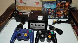 Consola Game Cube Con 2 Controles Y 2 Juegos