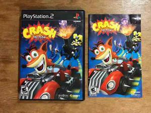 Crash Tag Team Racing Completo Para Playstation 2 / Ps2
