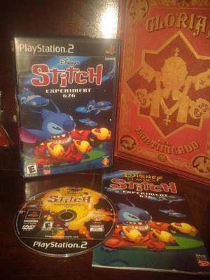 Disney's Stitch Experiment 626 Completo Para Tu Ps2
