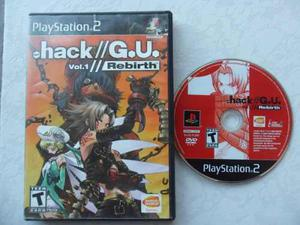 Dot.hack // G.u. Vol 1: Rebirth Para Tu Ps2 Rpg Chécalo
